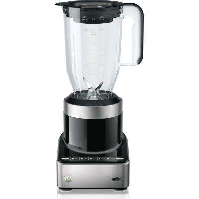 PureMix 5-Speed Stainless Steel and Black Blender