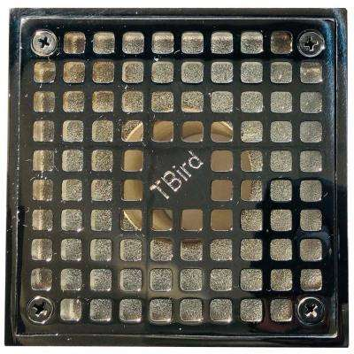 5 in. x 5 in. Square Chrome Plated Grate