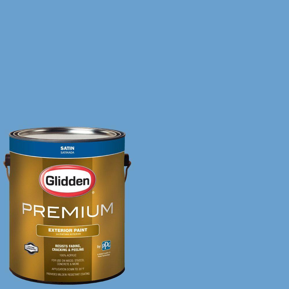 Hdgv14u French Blue Room Satin Latex Exterior Paint