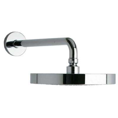 Morgana 1-Spray 8 in. Rain Shower Head with 12 in. Arm in Chrome