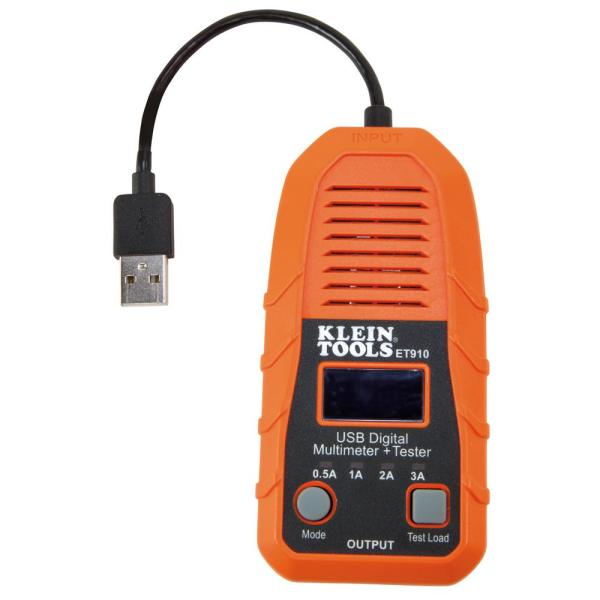 USB Digital Meter and Tester with USB-A Type A