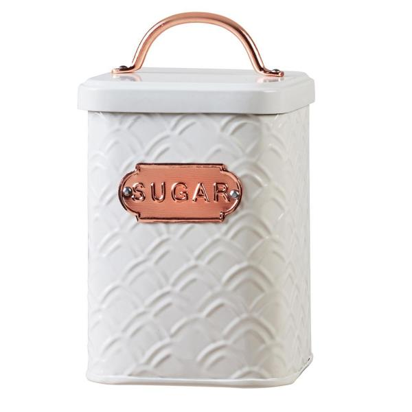 Amici Home Ventana 60 oz. Metal Storage Canister with Sugar Label