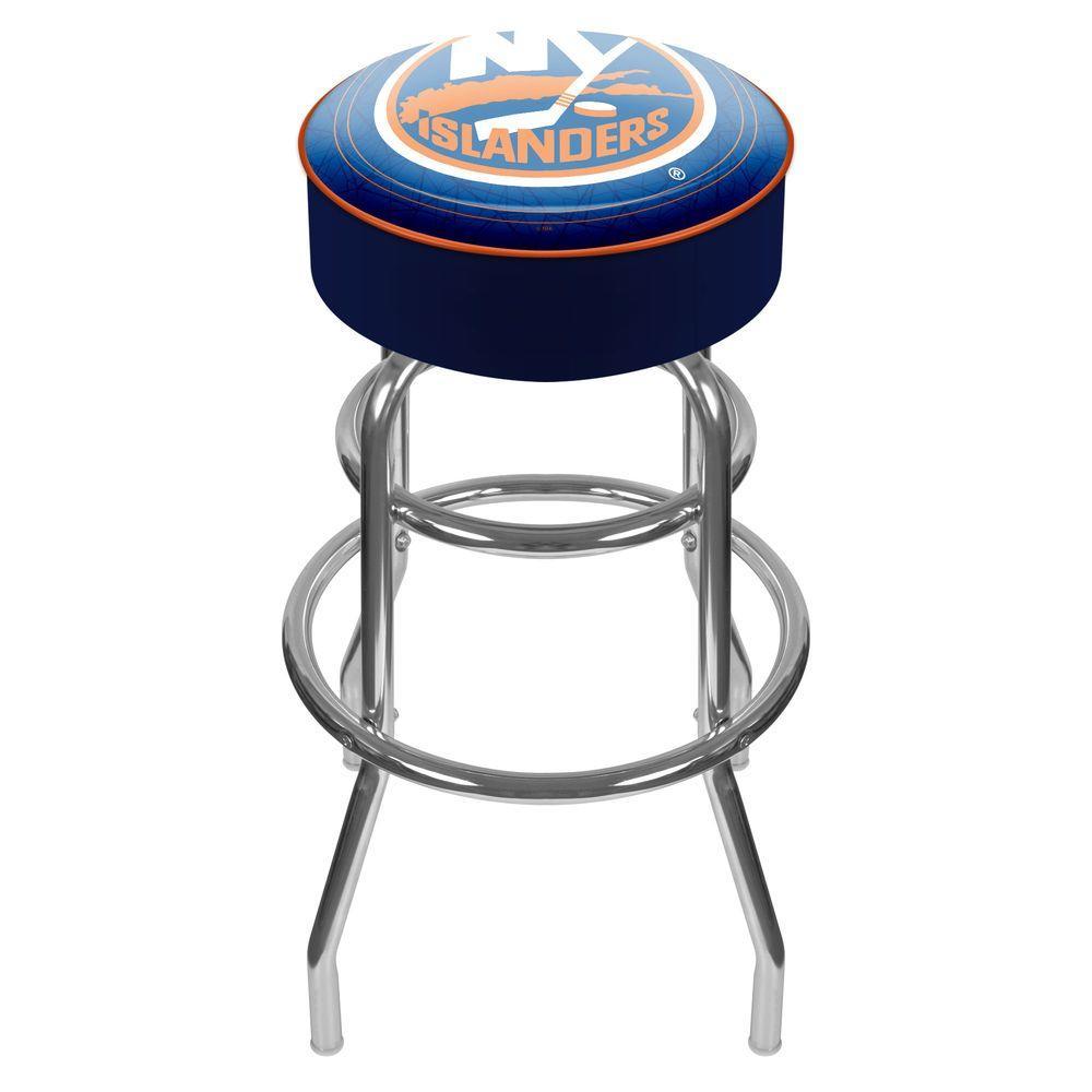 Trademark NHL New York Islanders Padded Swivel Bar Stool