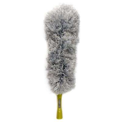 Microfiber Feather Duster for Dusting and Cleaning Surfaces Includes Handle for Use Without Pole (Pole Not Included)