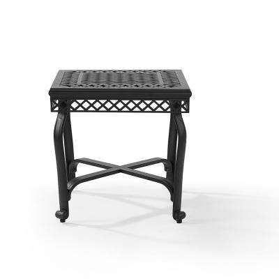 Portofino Cast Aluminum Outdoor Side Table