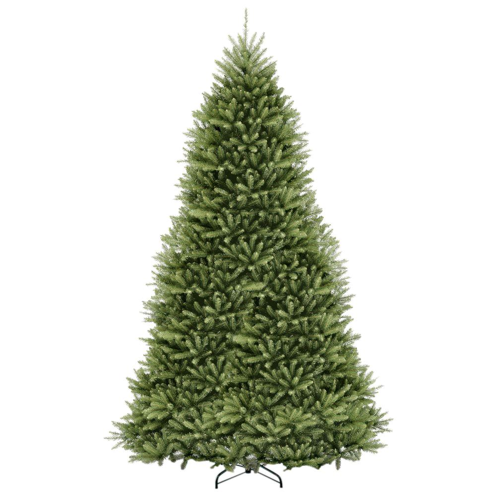 national tree company 12 ft dunhill fir hinged artificial christmas tree duh 120 the home depot - 12 Ft Artificial Christmas Trees