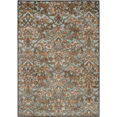 Paradise Soft Anthracite/Anthracite 8 ft. x 11 ft. Area Rug