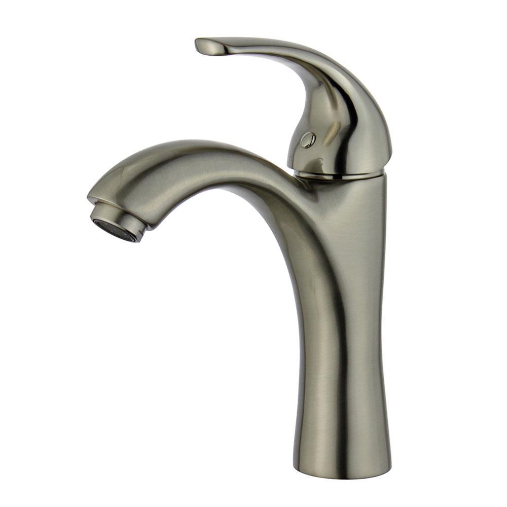 Seville Single Hole Single-Handle Bathroom Faucet in Brushed Nickel