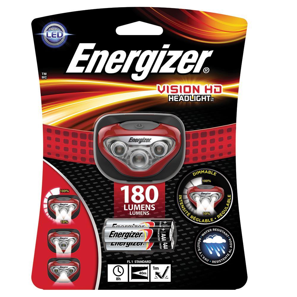Energizer 200 Lumen Headlamp, Reds/Pinks