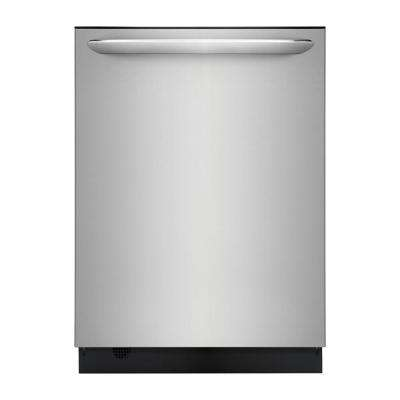 Top Control Built-In Tall Tub Dishwasher in Smudge-Proof Stainless Steel with Stainless Steel Tub and OrbitClean, 49 dBA