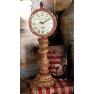 15 inch x 5 inch Multi Imperial Clock Works Table Clocks (Set of 3) by