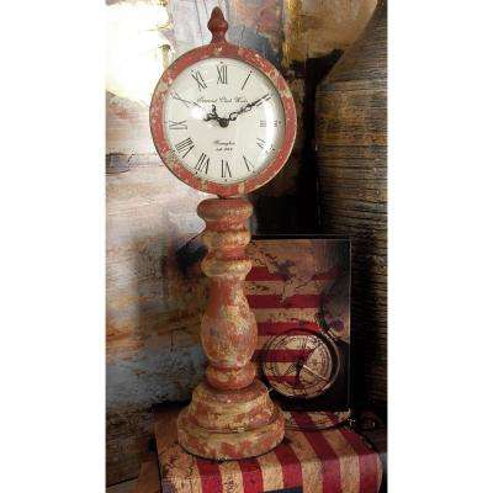 15 in. x 5 in. Multi Imperial Clock Works Table Clocks (Set of 3)