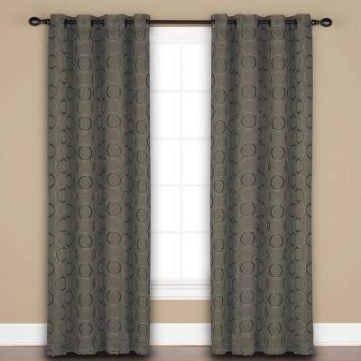 Halo 84 Inch Polyester Panel in Mink