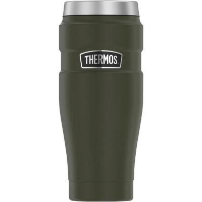 16 oz. Stainless King Stainless Steel Travel Tumbler