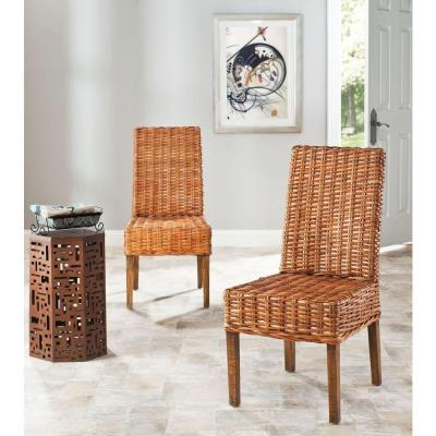 Honey Oak Dining Chairs Kitchen Room Furniture