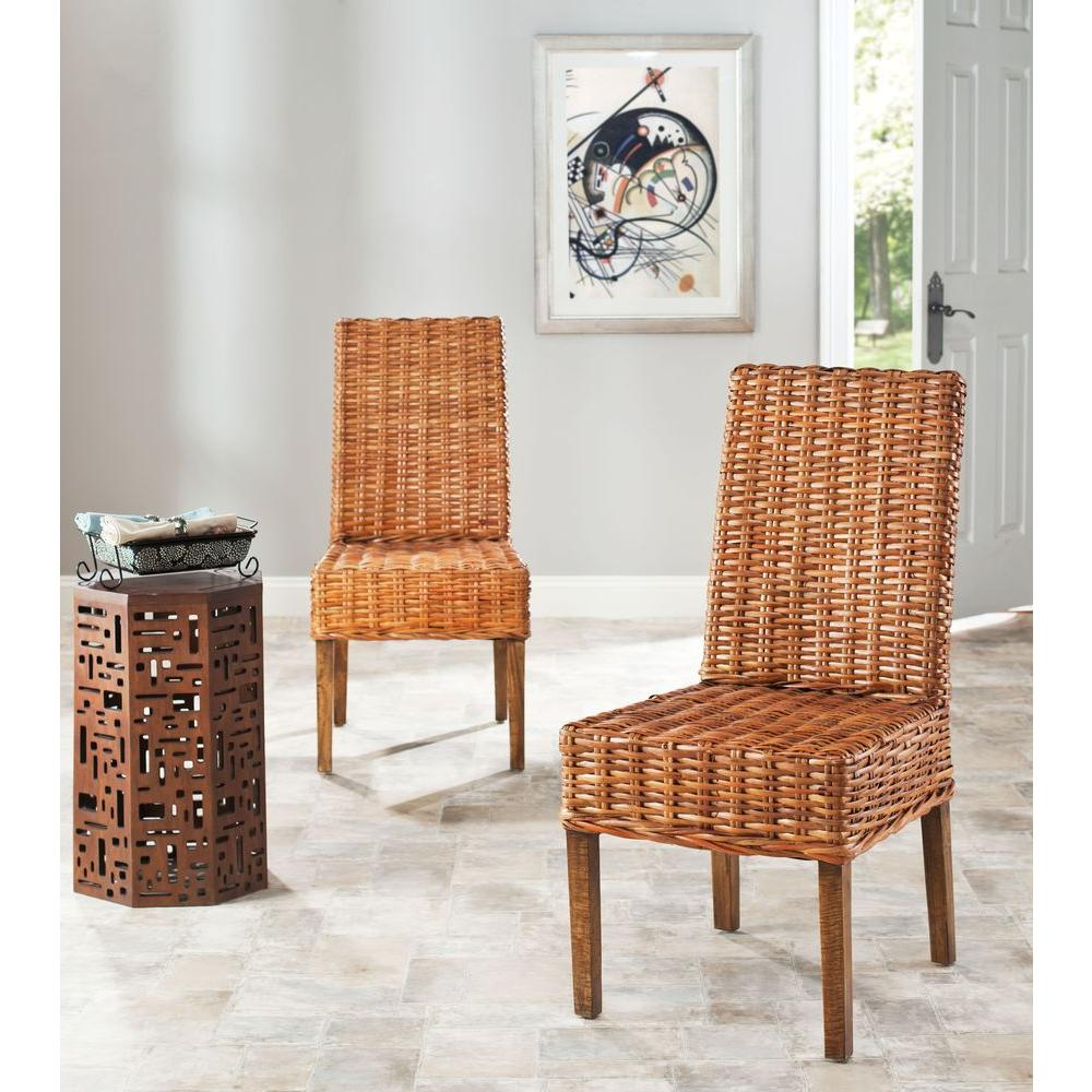 Safavieh Sanibel Honey Mango Wood Side Chair (Set of 2)