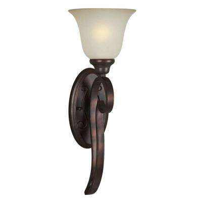 1-Light Antique Bronze Sconce
