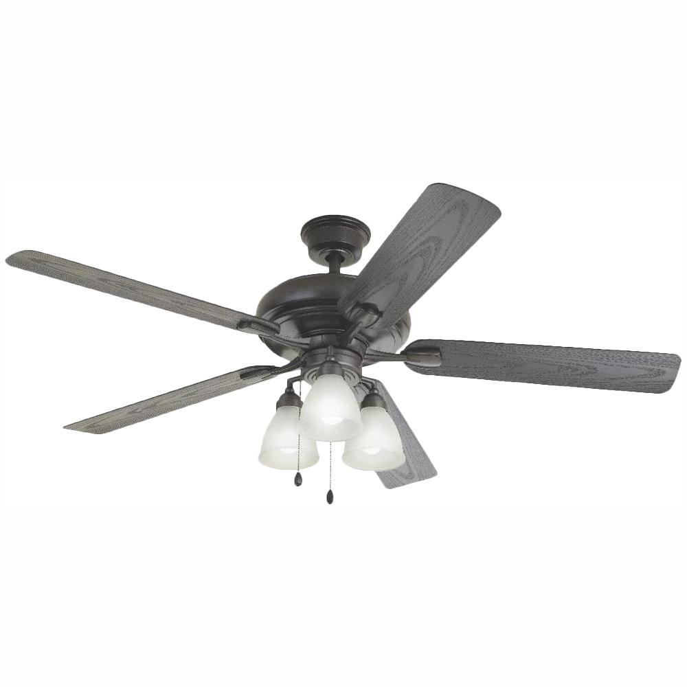 Home Decorators Collection Trentino II 60 in. LED Indoor/Outdoor Natural Iron Ceiling Fan