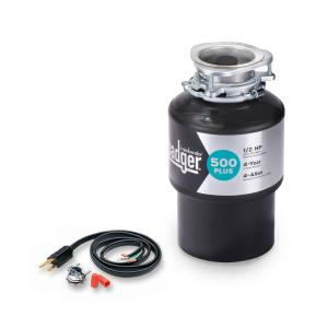 badger 1 2 hp garbage disposal insinkerator badger 500 plus 1 2 hp continuous feed 9073