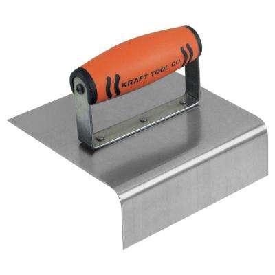 6 in. x 6 in. Stainless Steel Hand Edger with ProForm Handle