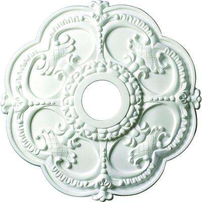 18 in. x 1-1/2 in. Floral Polyurethane Ceiling Medallion