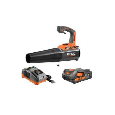18-Volt Gen5X Lithium-Ion Cordless Jobsite Blower Kit with (1) 2.0Ah Battery and Charger