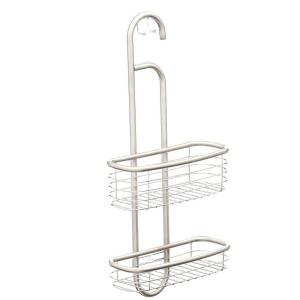 interDesign Forma 20-1/2 inch Ultra Shower Caddy in Brushed Stainless Steel by interDesign