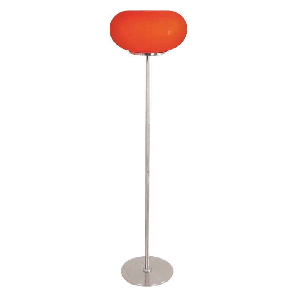 Lumisource 57 in. Red Floor Lamp-DISCONTINUED