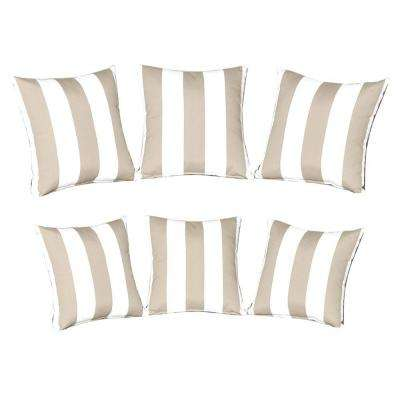Mill Valley Outdoor Throw Pillow (Set of 6)
