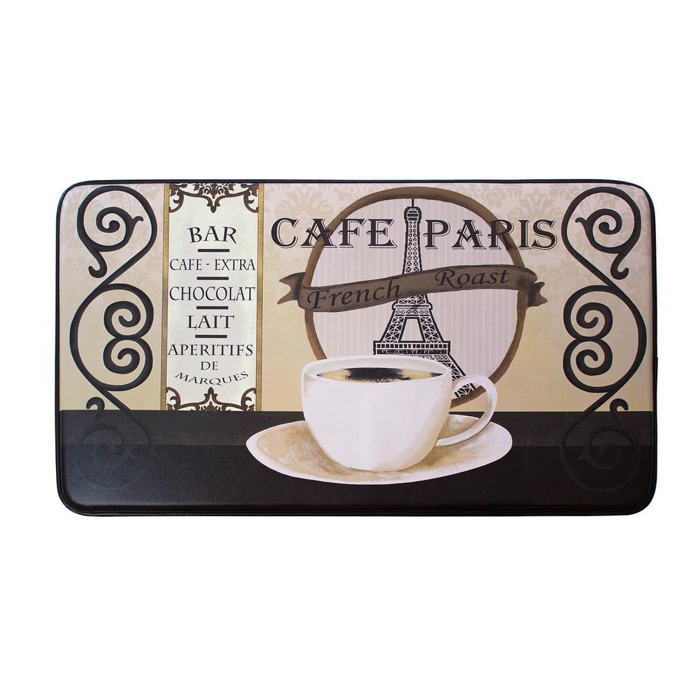 Chef Gear Cafe Paris 24 in. x 36 in. PVC Printed