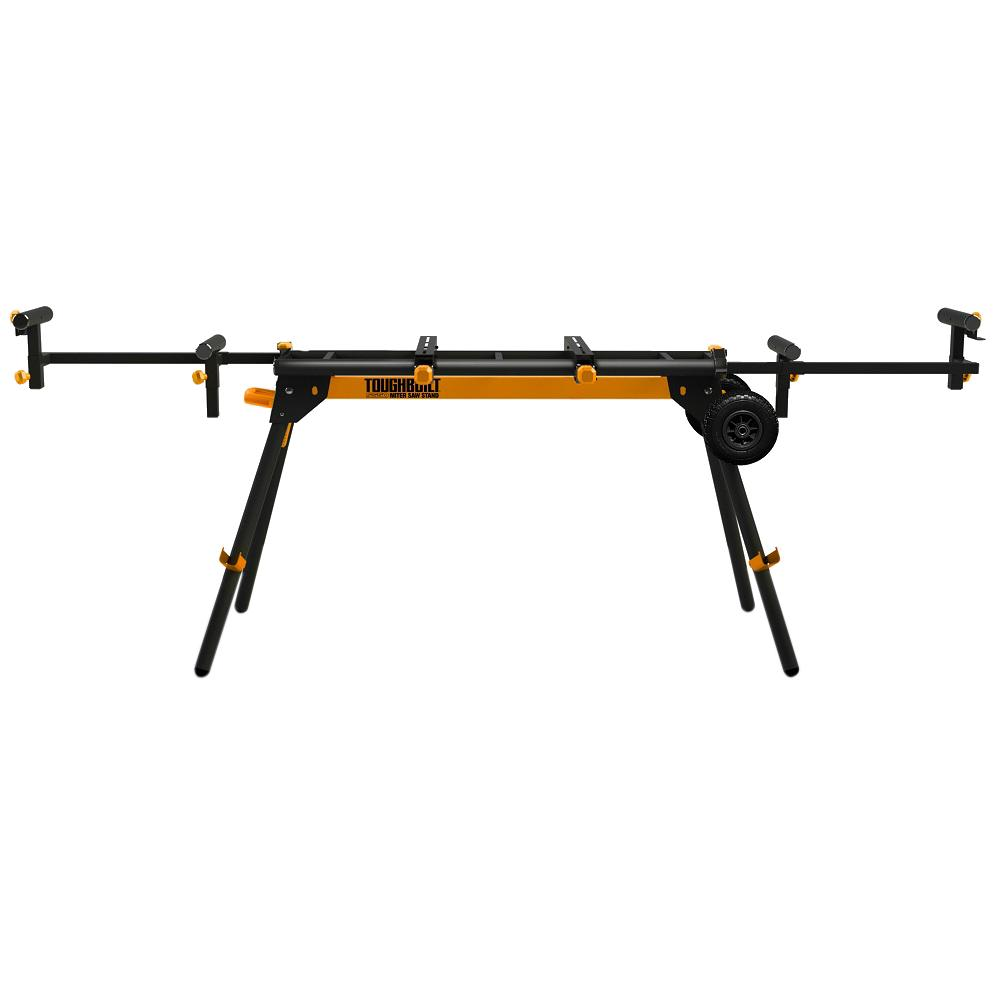 TOUGHBUILT Universal 124 in. Miter Saw Stand