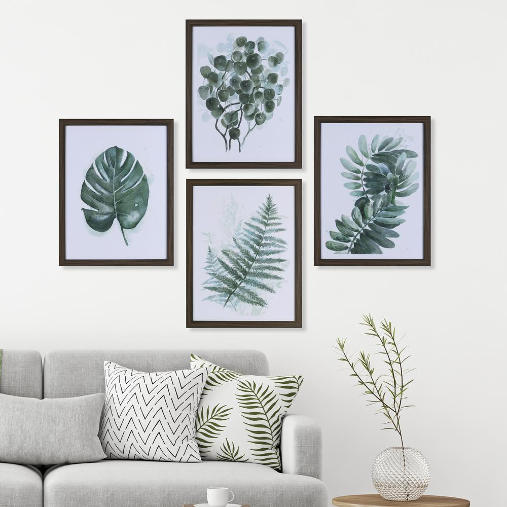 30.50 in. x 43.50 in. Evergreen Plantation, Framed Printed Paper ...