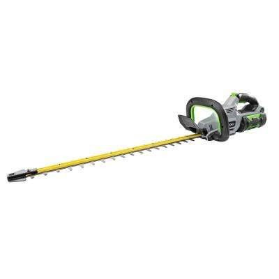 56V Lithium-ion Cordless 24 in. Brushless Hedge Trimmer Kit (210W Charger, 2.5Ah Battery Included)