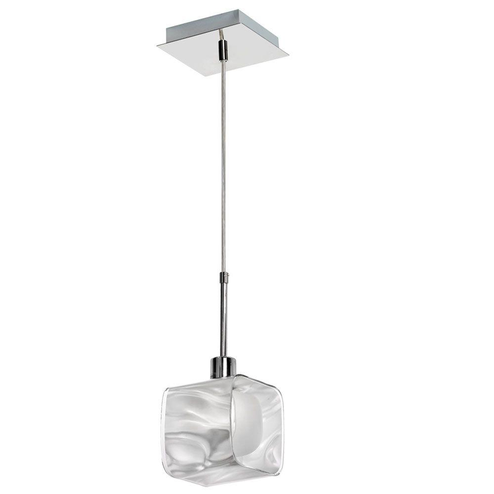 Cathrine 1 Light 7 in. Polished Chrome Pendant