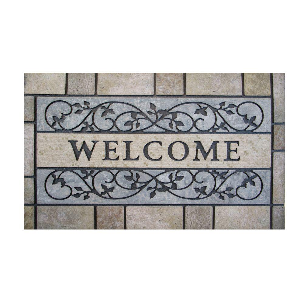 mat mats rug tile shop door pets housewarming pvc dog welcome comfort