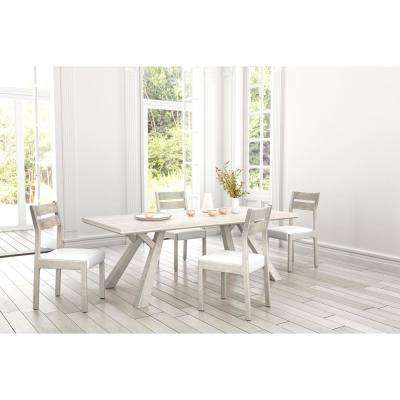 Beaumont Sun Drenched Acacia Round Rectangular Dining Table