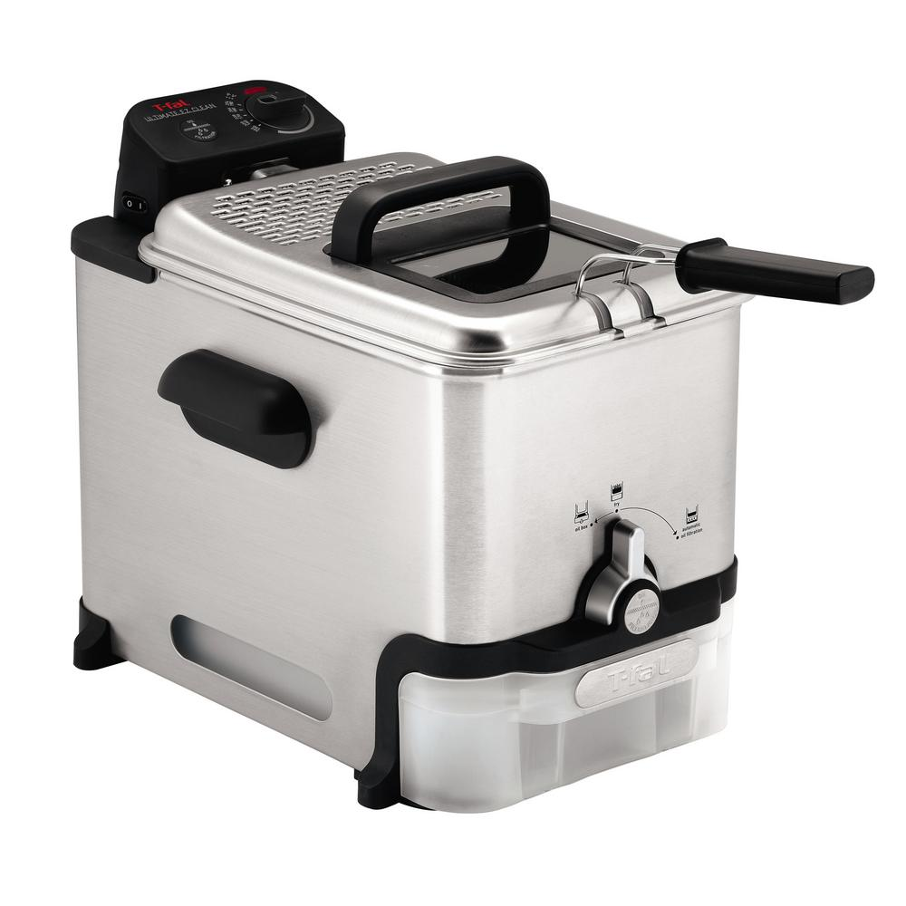 T-FAL Ultimate EZ Clean Deep Fryer, Silver