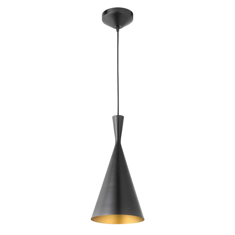 globe electric mira 1 light 80 in oil rubbed bronze and gold