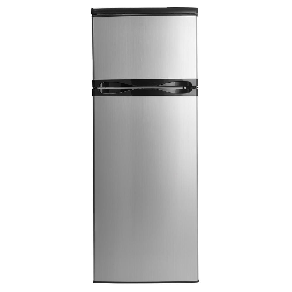 Danby Designer 7.3 cu. ft. Apartment Size Top Freezer Refrigerator ...