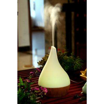 Glass and Bamboo Aroma Diffuser