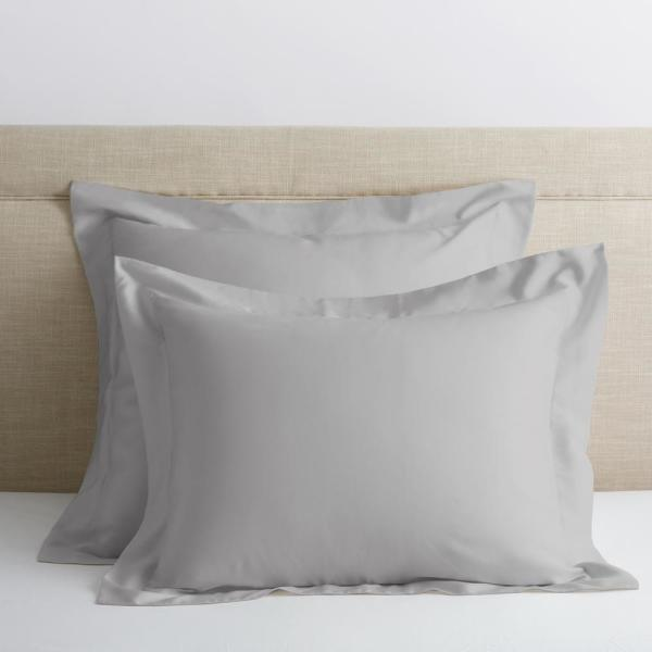 Legends Hotel Sterling 300-Thread Count TENCEL Lyocell Sateen Euro Sham