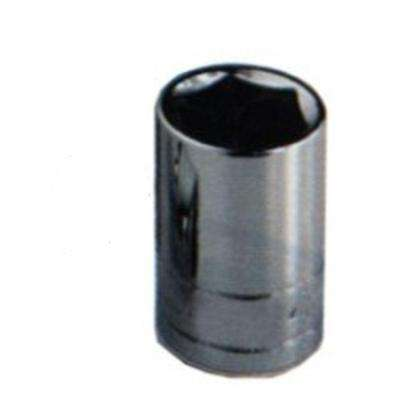 3/8 in. Drive Standard 6 Point 10 mm Chrome Socket