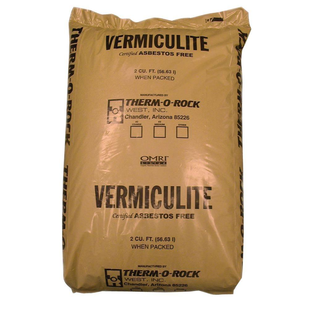 THERMOROCK 2.0 cu. ft. Vermiculite Pallet (32-Bags)