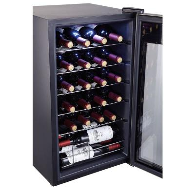 24 Bottle Single Zone Wine Cooler Small Wine Fridge