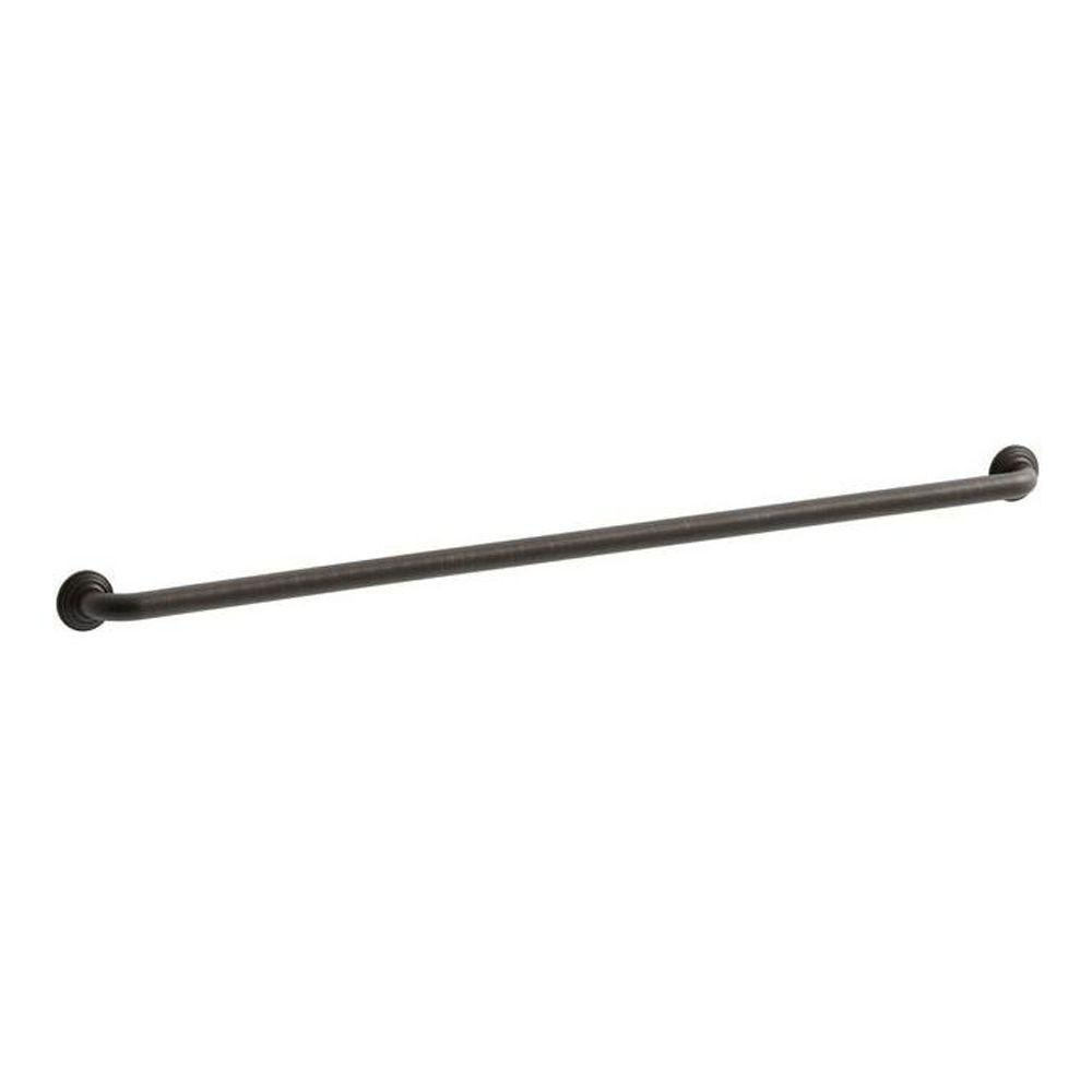 KOHLER Traditional 42 in. x 2-13/16 in. Concealed Screw Grab Bar in Oil-Rubbed Bronze