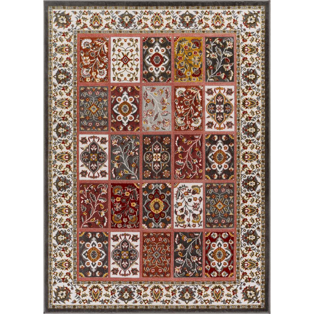 Well Woven Primavera Ornamental 3 Ft 11 In X 5 Ft 3 In
