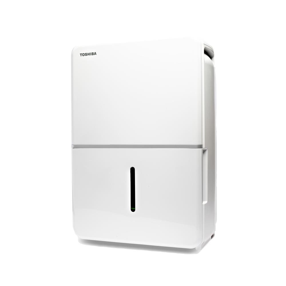 Toshiba 50-Pint 115-Volt ENERGY STAR Dehumidifier with Continuous Operation Function