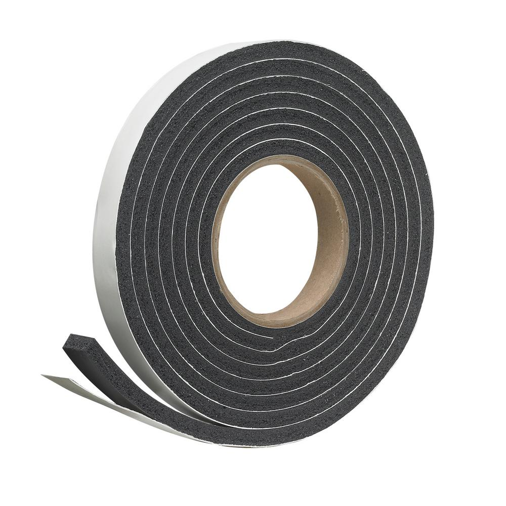 Frost King 3 4 In X 5 16 In X 10 Ft Black Rubber Foam