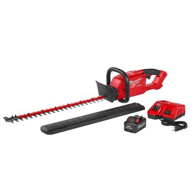M18 FUEL 18-Volt Lithium-Ion Brushless Cordless Hedge Trimmer Kit with 8.0 Ah Battery and Rapid Charger
