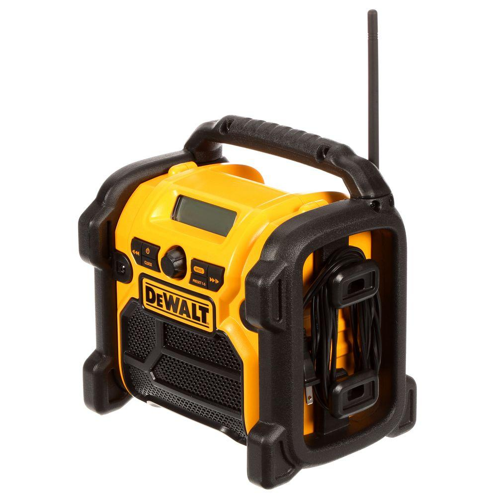 20-Volt MAX Compact Corded / Cordless Worksite Radio